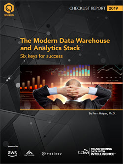 TDWI Checklist Report | The Modern Data Warehouse and Analytics Stack
